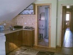 Kuchynský kútik v 3 lôžkovom apartmáne