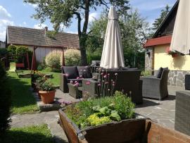 Záhrada penzionu